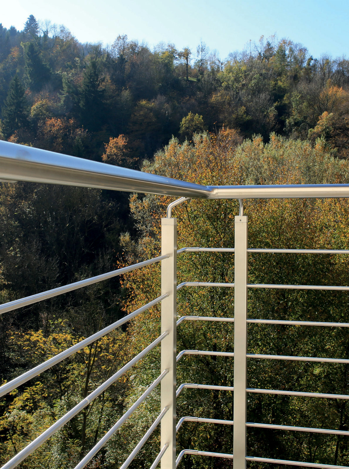 TRENTO - Stainless Steel Railing with Tube Square Baluster